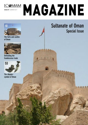 MAGAZINE - Oman Ministry of Tourism