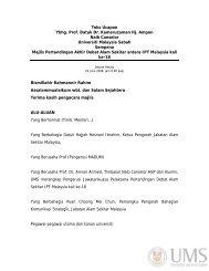 Teks Ucapan - UMS - Universiti Malaysia Sabah