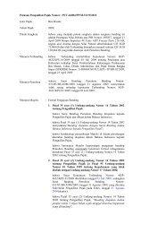 Putusan Pengadilan Pajak Nomor : PUT-26084/PP/M.VI/19/2010 ...