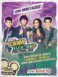 Lerne kostenlos die Choreo zu Camp Rock 2 - The Final ... - Disney.de