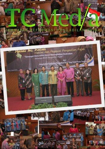 Tabloid TC Media Edisi 56 Bulan Agustus 2013 - Pengadilan Pajak