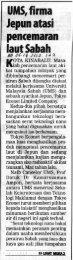 UMS,firma Jepunatasi pencemaran lautSabah - Universiti Malaysia ...