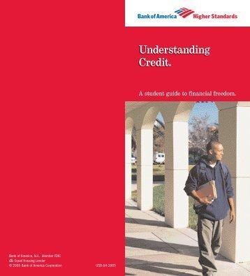 Understanding Credit.