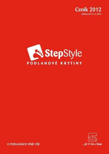 Ceník 2012 - Step & style