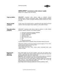 Technický list produktu - Ravago