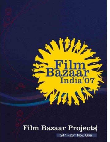 Film Bazaar Projects 2007