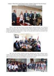 Meriç HEM AB Projesi toplantısı - Edirne Milli Eğitim Müdürlüğü