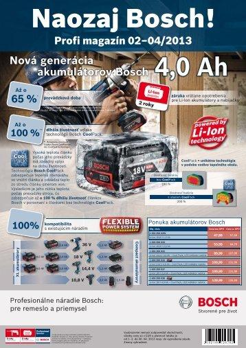 Bosch profi noviny 1Q 2013 SK.indd - Hybox
