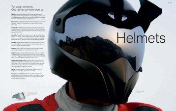 Ten tough demands. One helmet can meet them all.