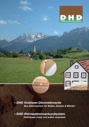 12 Seiten einzeln:Layout 1 - DHD - Doser Holzfaser-Dämmsysteme
