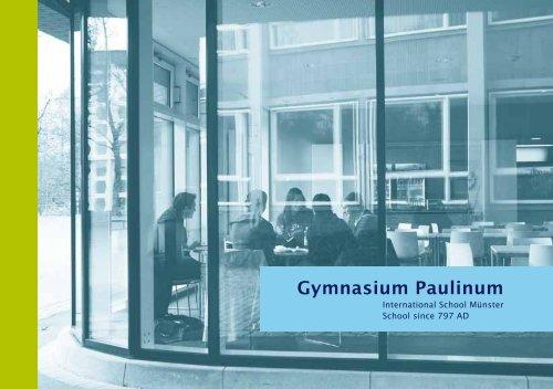 m u - Gymnasium Paulinum