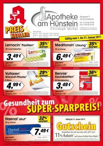 statt - Apotheke am Hünstein Dautphetal