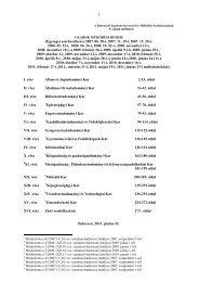 A KAROK MŰKÖDÉSI RENDJE (pdf) - Általános Orvostudományi Kar