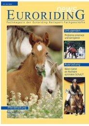 Wollen Sie mit Pferden Geld verdienen? - Euroriding