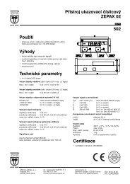 1) Katalogový list 502 - ZPA Nová Paka, as