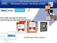 DELL | EMC solutions for Microsoft - Ortra