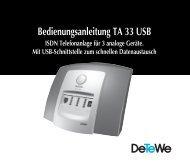 Bedienungsanleitung TA 33 USB - Digitale Sprach- und ...