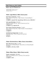 IHA Fribourg 26.2.2012 - Beagle Club Schweiz