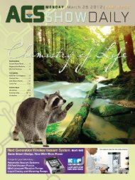 MONDAY | March 26 2012 - Chemical & Engineering News