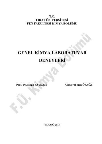Genel Kimya Laboratuvarı - Portal