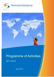 Programme of Activities - Stockholm Convention on Persistent ...
