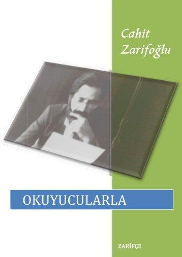 okuy ucular la - Cahit Zarifoğlu