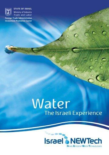 Novel Efficient Water Technologies