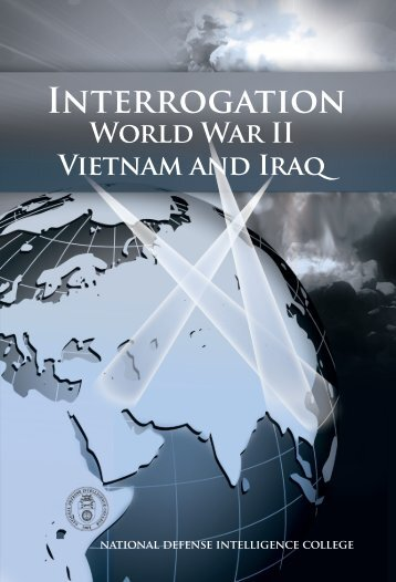 Interrogation WWII - National Intelligence University