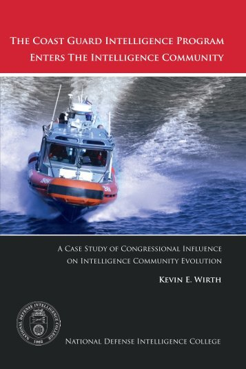 The Coast Guard Intelligence Program Enters The Intelligence ...