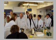 Die Ministerinnen Frau Buhlkman und Frau Erdsiek ... - Lernort Labor