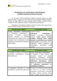 Skaidrojums par piedāvājuma nodrošinājumu (Publisko iepirkumu ...