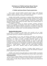 PUBLISKO IEPIRKUMU LIKUMA - Iepirkumu uzraudzības birojs