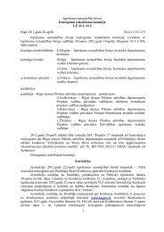 Iepirkumu uzraudzības birojs Iesniegumu izskatīšanas komisija L Ē ...
