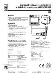 Použití Výhody Technické parametry Zapisovač ... - MaR TRADE