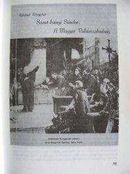 Szent-Iványi Sándor: A magyar vallásszabadság - Magyarországi ...