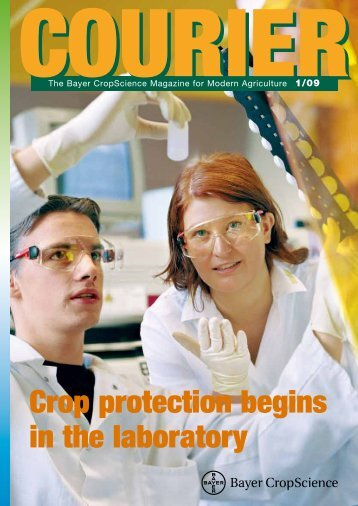 Crop protection begins in the laboratory - Bayer CropScience