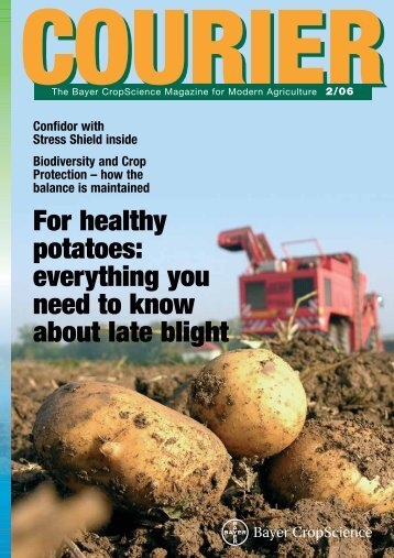 For healthy potatoes - Bayer CropScience