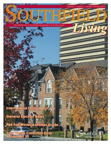 Southfield Living, Volume 11, Issue 2 Fall 2013/Winter 2014