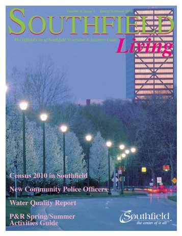 Southfield Living spring 2010.pdf - City of Southfield
