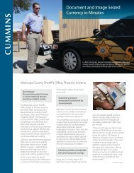 Maricopa County Sheriff's Office Case Study - Cummins-Allison