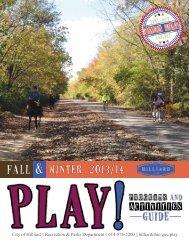 Activities - City of Hilliard