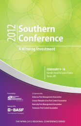 Southern Conference - National Pest Management Association