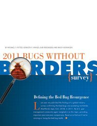 2011 Bugs Without Borders Study Results - National Pest ...