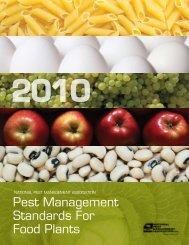 Pest Management Standards For Food Plants - National Pest ...