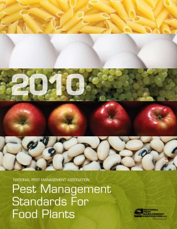 Pest Management Standards For Food Plants - National Pest ...