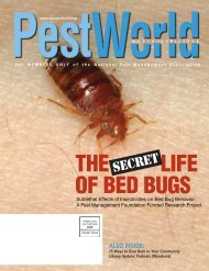 THE LIFE OF BED BUGS - National Pest Management Association