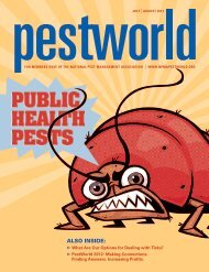 July/August - National Pest Management Association