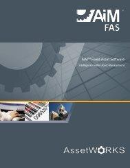 AiM TM Fixed Assets Brochure - AssetWorks