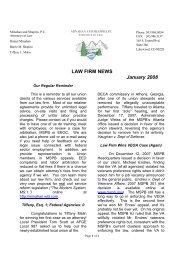 LAW FIRM NEWS January 2008 - Afge171.org