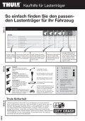 Thule Kaufhilfe 2011 - Seite 4